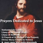 Catholic Devotional Prayers and Novenas - Mp3 Audio Downloads and Text 12