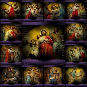 Stations of the Cross according to the method of St. Francis  text and mp3 audio download 1