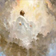 The Ascension Of Jesus Christ Forty Days After His Glorious Resurrection In Presence Mary And