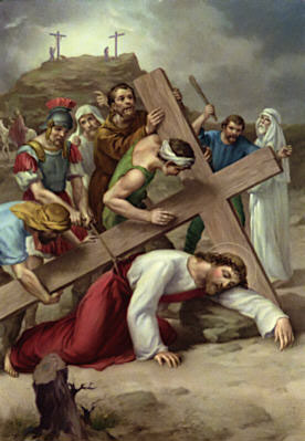 Stations of the Cross according to the method of St. Francis  text and mp3 audio download 10